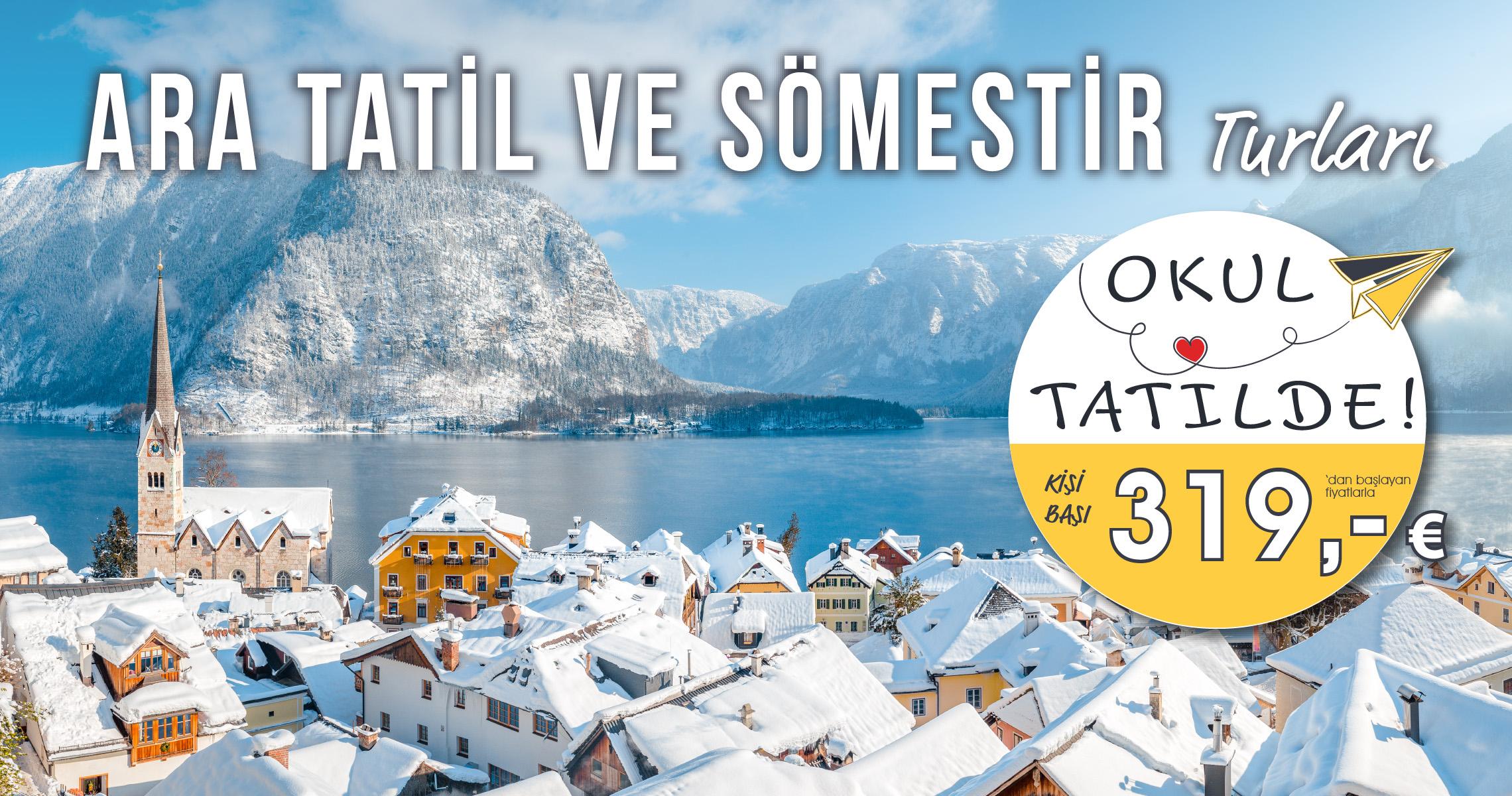 Ara Tatil ve Sömestir tatilinde İlk Rezervasyon Fırsatı! Sakın Kaçırmayın!